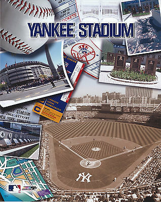 Yankee Stadium New York Yankees 8 X 10 Photo With Ultra Pro Toploader