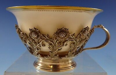 Chrysanthemum By Tiffany & Co. Sterling Silver Tea Cup With Lenox Liner (#2634)