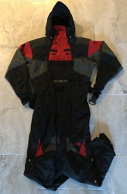 91efb2b76 The North Face Scot Schmidt STEEP TECH Red Black Suit Size XL ...