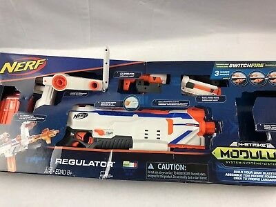 Nerf Gun Modulus Regulator Attachments (untested) Used/new