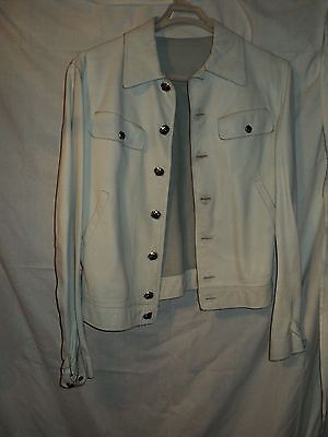 gianni versace moto jacket collectible 48 50it, nice condition