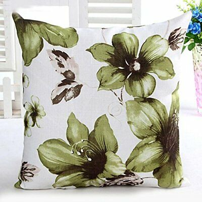 Pillow Case Sofa West Slow Cushion Cover, Funic Flower Pattern Sofa Bed Home Int