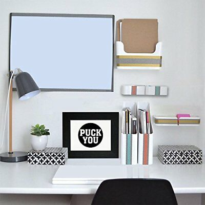 Puck You - Trendy Hockey Puck Graphic Design Framed Print Poster Wall Or Desk Mo