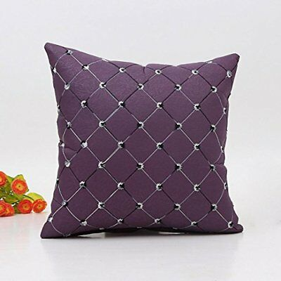 Throw Pillow Case Square Cushion Cover, Sofa Funic Waist Pillow Home Sofa Bed De