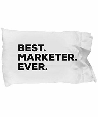 Spreadpassion Marketer Pillow Case - Best Marketer Ever - Marketing Gifts For Wo