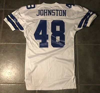Dallas Cowboys Daryl Johnston Game Issued 1994  Apex Jersey 75th Anniversary