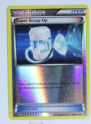 Pokemon Card - Super Scoop Up - 103/114 - Black and White - Reverse - Excellent