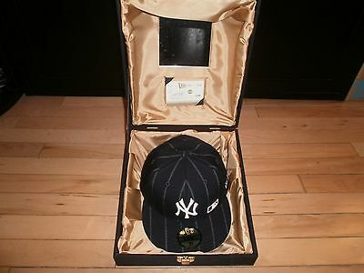 """New Era 59fifty Yankee 2004 Limited Edition Hat """"capture The Flag"""" With Diamond"""