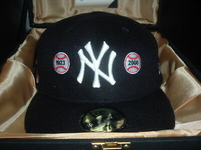 "New Era 59fifty Yankee 2004 Limited Edition Hat ""capture The Flag"" Size 7 5/8"