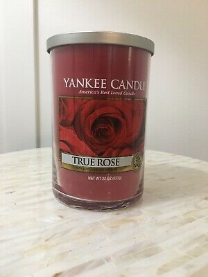 Yankee Candle True Rose 22 Oz. 2-wicks, Classic Label, Free Shipping!