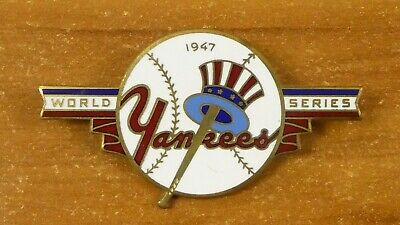 Very Rare 1947 Yankee World Series Pin Given To Players And Executives Not Press