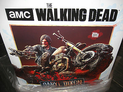 New The Walking Dead Daryl Dixon Limited Edition Resin Statue Mcfarlane Signed