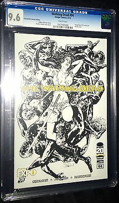 Walking Dead #94  (2012,image) Sketch Cover 9.6 Nm+ Cgc