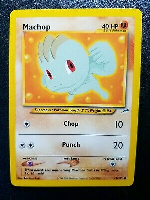 Pokemon Neo Destiny Machop Common (73/105) NEAR MINT