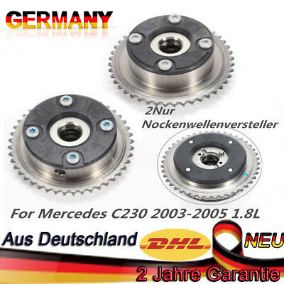 Pair Camshaft Adjuster For Mercedes-benz W212 S211 W203 C230 W204 High Quality