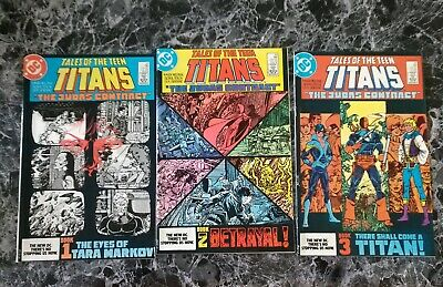 Tales Of The Teen Titans #42, 43, 44