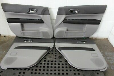Jdm 03 08 Subaru Forester Sti Sg9 Front And Rear Door Panels Only Jdm Sg9 Panel