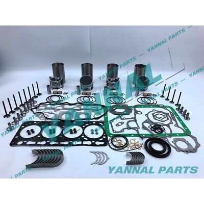New Kubota V3300 V3300-idi Overhaul Kit With Valves ( 87.0mm )