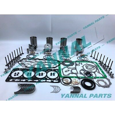 New Kubota V3300 V3300t Overhaul Kit With Valves ( 57.0mm )