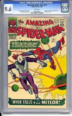 Amazing Spider-man #36  Cgc  9.6 Nm+  Incredible White Pages!  Extremely Sharp!
