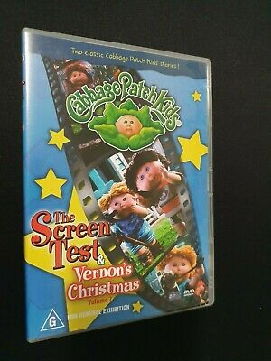 Cabbage Patch Kids: The Screen Test / Vernons Christmas Vol. 2 Dvd Rare Oop Vtg!