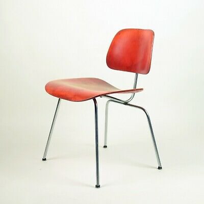 Charles & Ray Eames, Dcm Chair For Herman Miller, Stunning Early Vintage Version