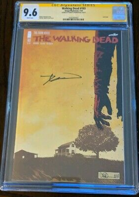 Walking Dead #193 1st Print Signed Robert Kirkman Cgc Ss 9.6 Skybound Image 2019