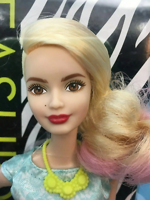 Barbie Fashionistas La Girl 2014 Shaved Side Of Head Hard To Find Nrfb