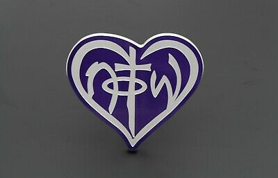 Not Of This World 2 Inch Powder Coated Billet Aluminum Hitch Cover - Purple