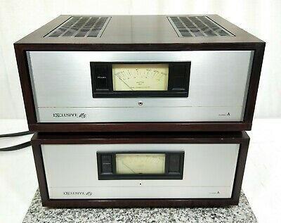Pioneer Exclusive M5 Class A Power Amplifier In Very Good Condition  [pair]