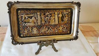 Vintage Egyption Handmade Tray