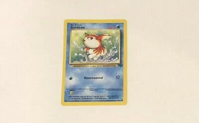 Pokemon Card Goldeen 53/64 Jungle Set
