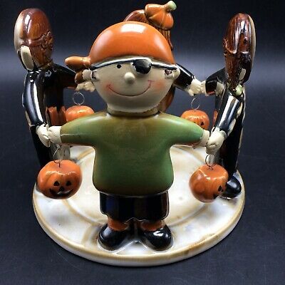 Yankee Candle Ronnie Walter Halloween Kids Candle Jar Holder Trick Or Treat