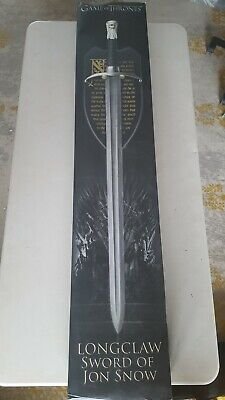 Rare #413/500 Valyrian Steel Damascus Longclaw Sword John Snow Game Of Thrones