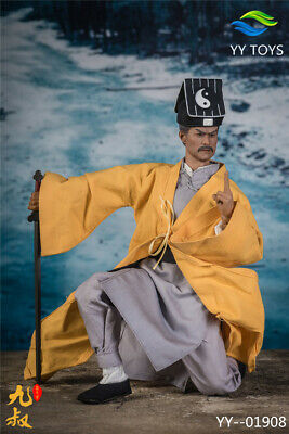 Yy Toys 1/6 Yy-01908 Taoist Priest Ninth Uncle Male Aation Figure Collectibles