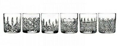 Waterford Lismore Connoisseur Heritage Straight Sided Tumbler 7oz Set Of 6