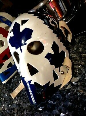 Ice Hockey Goalie Mask 2 Lot. Dryden And Mike Palmatier  Fiberglass Never Used