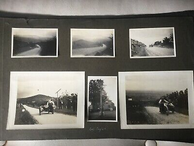 Rare Photos Of 1920s Kop Hill Run Hill Climb Closed In 1925 Malcolm Campbell