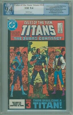 Tales Of The Teen Titans # 44 Pgx 9.4 Nm 1st Appearance Of Nightwing 1984