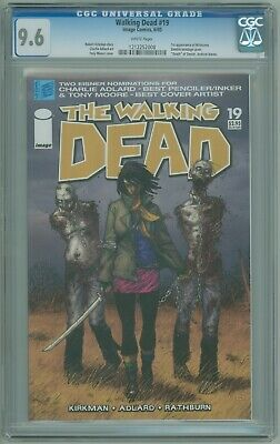 Walking Dead # 19 Cgc 9.6 Nm+ 1st Appearance Of Michonne 2005 Robert Kirkman