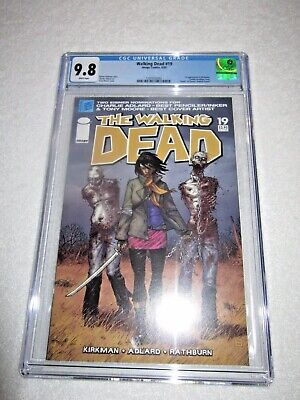 Walking Dead #19 1st Print Cgc 9.8 White Pages 1st Michonne Image Comics 2005
