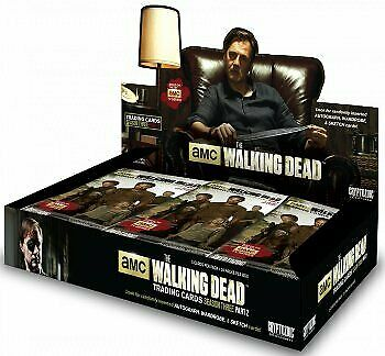 The Walking Dead Season 3 Part 2 Trading Cards Sealed Hobby Box Hot By