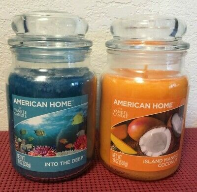 American Home By Yankee Candles Scented Candle Glass Jar 19 Oz (ship Discounts)