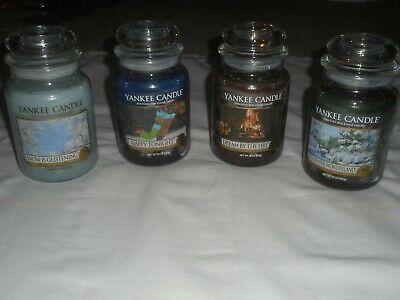 Yankee Candle Holiday Lot Large Jars 22oz