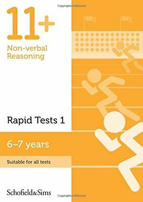 Schofield Andamp; Sims - 11+ Non-verbal Reasoning Rapid Tests Book 1: