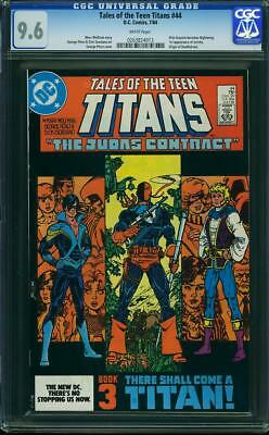 Tales Of The Teen Titans #44 Cgc 9.6 1st Nightwing (dick Grayson)!