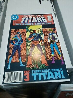 Tales Of The Teen Titans #44 (jul 1984, Dc) Rare Canadian Variant 🔥🔥