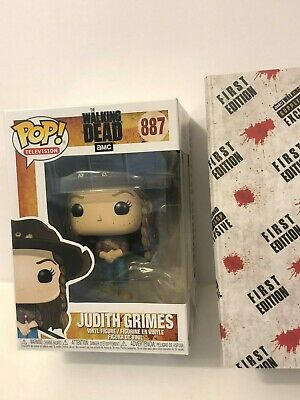 The Walking Dead Amc Exclusive Supply Drop Funko Pop Judith Grimes #887 First Ed