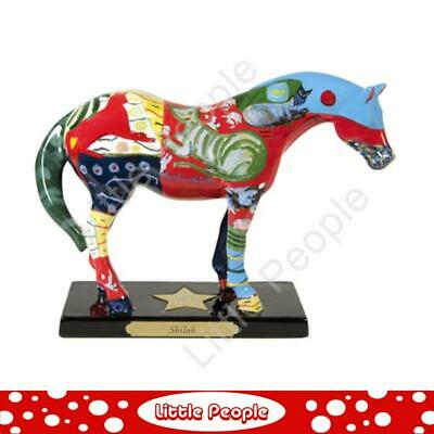 Trail Of Painted Ponies From Enesco- Shiloh Ceramic Pony Horse Figurine Bnib