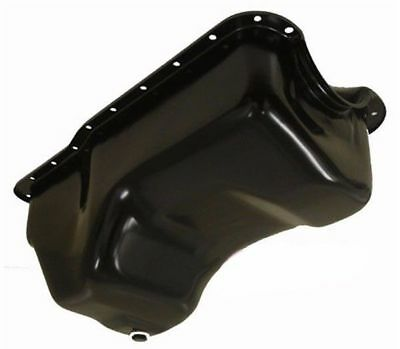 For 1988-1996 Ford Black Small Block 351w Windsor Stock Capacity Truck Oil Pan